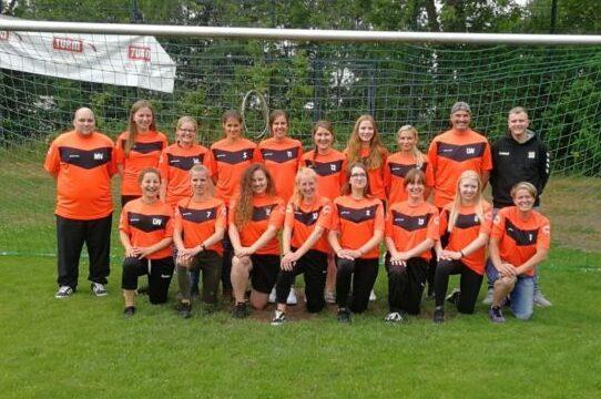 Krusenbuscher Sportverein - Mannschaftsfoto 1. Damen
